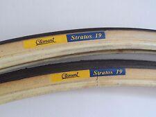 *Rare NOS Vintage 1980s CLEMENT 'Stratos 19' 700C Italian clincher tyres (pair)*