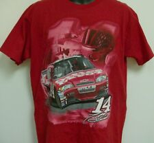 Tony Stewart Old Spice Office Depot T-Shirt Adult Medium Free Ship # 14