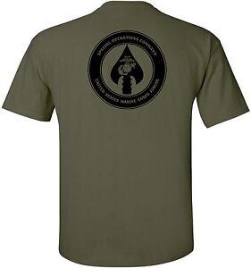 USMC United States Marine Corps - MARSOC Special Operations Command T-Shirt