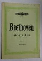 James Helme Sutcliffe Beethoven Messe In C Klavierauszug