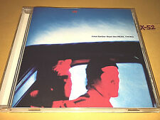 U2 single EVEN BETTER THAN THE REAL THING 4 track CD brian eno SALOME p barrett