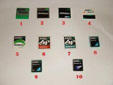 AMD case stickers - Duron, Athlon, Athlon XP, Sempron, Athlon X2, Phenom II