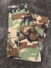 Mens Bdu Combat Uniforms Camo Pants Size Medium Regular