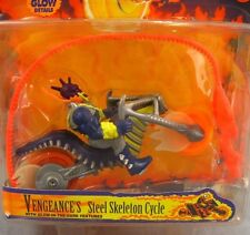 Ghost Rider Vengeance's Steel Skeleton Cycle NEW MOC 1995 Flamin' Stunt Toy Biz