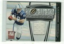 PEYTON MANNING 2008 DONRUSS ELITE ZONING COMMISSION GAME USED JERSEY#/299