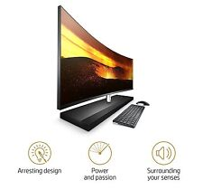 HP ENVY 34 CURVED Desktop i7-7700T 4TB SSD 32GB RAM All-in-One faster 34-b015t