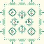 LE+PAVOT+Quilt+KIT+-+Quilt+Pattern+%2B+Moda+Fabric+%2F+Aqua+Foral+Poppies