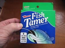 Mason Fish Tamer Co-Polymer Fluorescent Clear Fishing Line 8 Lb Test 300 Yds