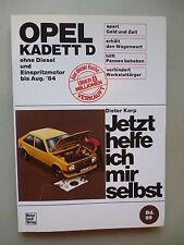 Jetzt helfe ich mir selbst Bd. 89 Opel Kadett D ohne Diesel Einspritzmotor 1984