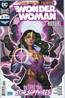 Wonder Woman Annual #2 DC COMICS  Cover A 1ST PRINT STAR SAPPHIRES