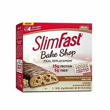 SlimFast Bake shop Meal Replacement Bars Chocolatey Crispy Cookie Dough Bar 1box