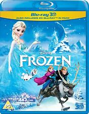 Frozen (3D + 2D Blu-ray, 2 Discs, Disney, Region Free) *NEW/SEALED*