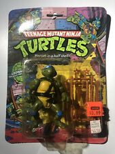 TMNT Hard Head Leonardo 1988 10 Back MOC Leo New Sealed Transition Rare