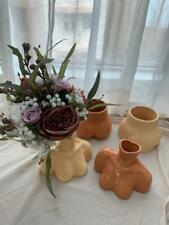 Women Nude Body Bust Chest Art Vase Ceramic Boobs Booty Planter Pot Art Decor