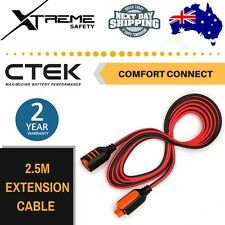 CTEK 2.5M 8'2 Inches Comfort Connector Battery Charger Extension Cable Up to 10A