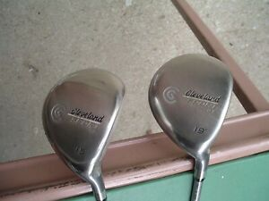 Cleveland Sport Series OS Fwy 15 Gr S Men's RH Wood Set 15* and 19*