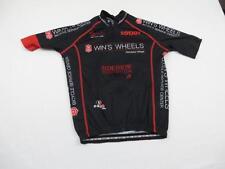 Capo Womens Black Sweet Wins Wheels Bike Cycling Jersey Sz Medium Shirt