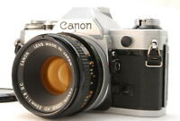 [NEAR MINT++] Canon AE-1 35mm SLR Film Camera w/50mm F/1.8 lens from JAPAN