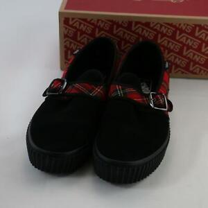 VANS Tartan / Black Style 47 Creeper Punk Style Shoes UK 11 Euro 46 New With Box