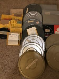 Lot of 21 vintage home movies film; 8mm, Super 8, etc; Vacations, Wedding, Etc