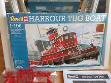 Model kit Revell Harbour Tug Boat on 1:108 in Box