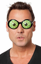 Grüne Alienaugen Brille NEU - Zubehör Accessoire Karneval Fasching