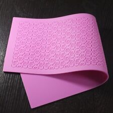 Pink Lace Silicone Mold Sugar Craft Fondant Texture Cake Decorating Baking Pad
