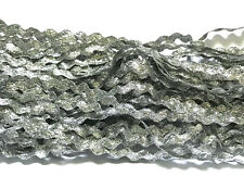 20 yds Silver Lace Trims Lace Edge Trim Craft Edging Dressmaking Ribbon Sewing