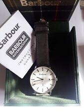 BARBOUR BB043WHGY Whitburn Men Watch Grey Leather