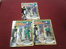 lot of 3 Dick Tracy 1990 Figure Playmates shoulders Rodent Tramp rare gift set