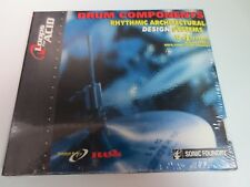 SONIC FOUNDRY ~ DRUM COMPONENTS RHYTHMIC ARCHITECTURAL DESIGN SYSTEMS VOL-1