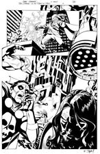 Tom Strong - Planet in Peril #4 - Sprouse and Story - original art
