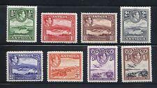 Antigua Scott #84-91 George VI Engraved Pictorials MLH VF  SCV $13.50