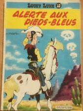 BD LUCKY LUKE : ALERTE AUX PIEDS-BLEUS (souple)