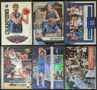 Lot of (6) Dirk Nowitzki, Including Marquee Champions, Optic Holo, Prizm & more