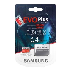 MICROSD 64 GB SAMSUNG EVO 100MB/s PER Galaxy S7 edge   S7 S6 edge   S6 S5 I9600