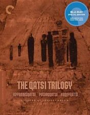 The Qatsi Trilogy Criterion Collection 3 Discs BLURAY