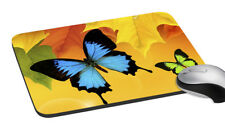 """Butterfly Mouse Pad Anti Skid Pad Mat Rectangular Pad 7.2x8"""""""