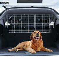 Dog Barrier Car SUV Vehicles, Adjustable Pet Barrier Wire Mesh Dog Car Barrier
