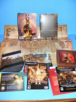 EverQuest II (PC, 2004) with Map 10 CD Set Near Mint - US Version