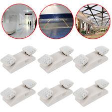 Commercial Emergency Exit Light 6 Pack Dual Head Led Lamp Waterproof Indoor