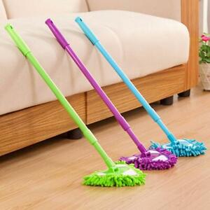 Degree 180 Rotatable Adjustable Triangle Lazy Cleaning Mop NEW TH