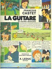 Fran_ois Castet: la Guitare en Bandes Dessinees (Guitar Solo)