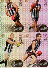 2008 Select AFL Classic Holofoil Parallel Card Team Set (10)--Collingwood