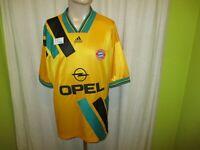 "FC Bayern München Original Adidas Auswärts Trikot 1993-1995 ""OPEL"" Gr.XL"