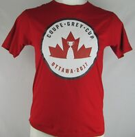 Ottawa 2017 Grey Cup CFL Adidas Men's M L Red Short Sleeve T-Shirt