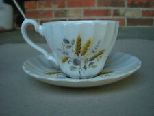 Myott Ironstone WHEAT Cup and Saucer Staffordshire England