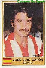 087 JOSE LUIS CAPON ATLETICO MADRID ESPANA CROMO STICKER EURO FOOTBALL 76 PANINI