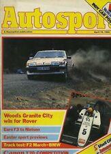 AUTOSPORT 19th APRILE 1984 * AUDI SPORT QUATTRO guidato *