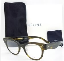 NEW Celine Rx Frame CL 41427 OVF 48mm Havana Green AUTHENTIC Classic Mens Womens